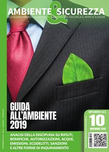 Guida all'Ambiente 2019 supplemento al n.10 novembre 2019