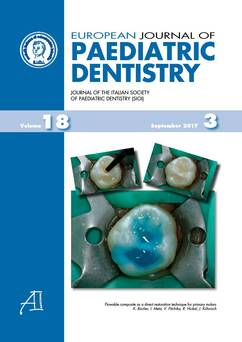 European Journal of Paediatric Dentistry n.4