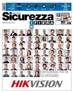 Speciale Sicurezza in Fiera 2019 - supplemento a Sicurezza n.8